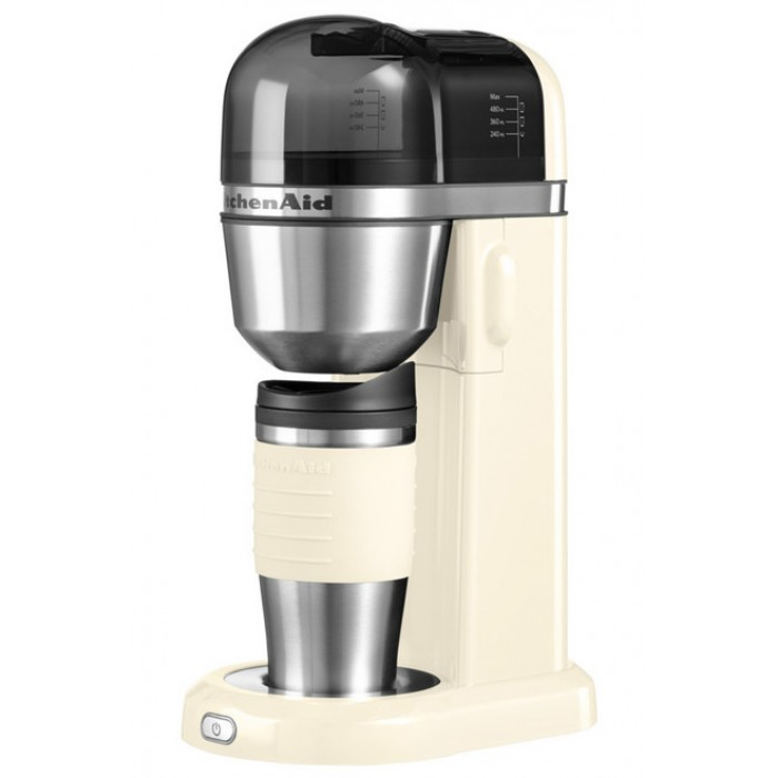 Онлайн каталог PROMENU: Кофеварка электрическаяя KitchenAid Artisan, кремовая                                   5KCM0402EAC