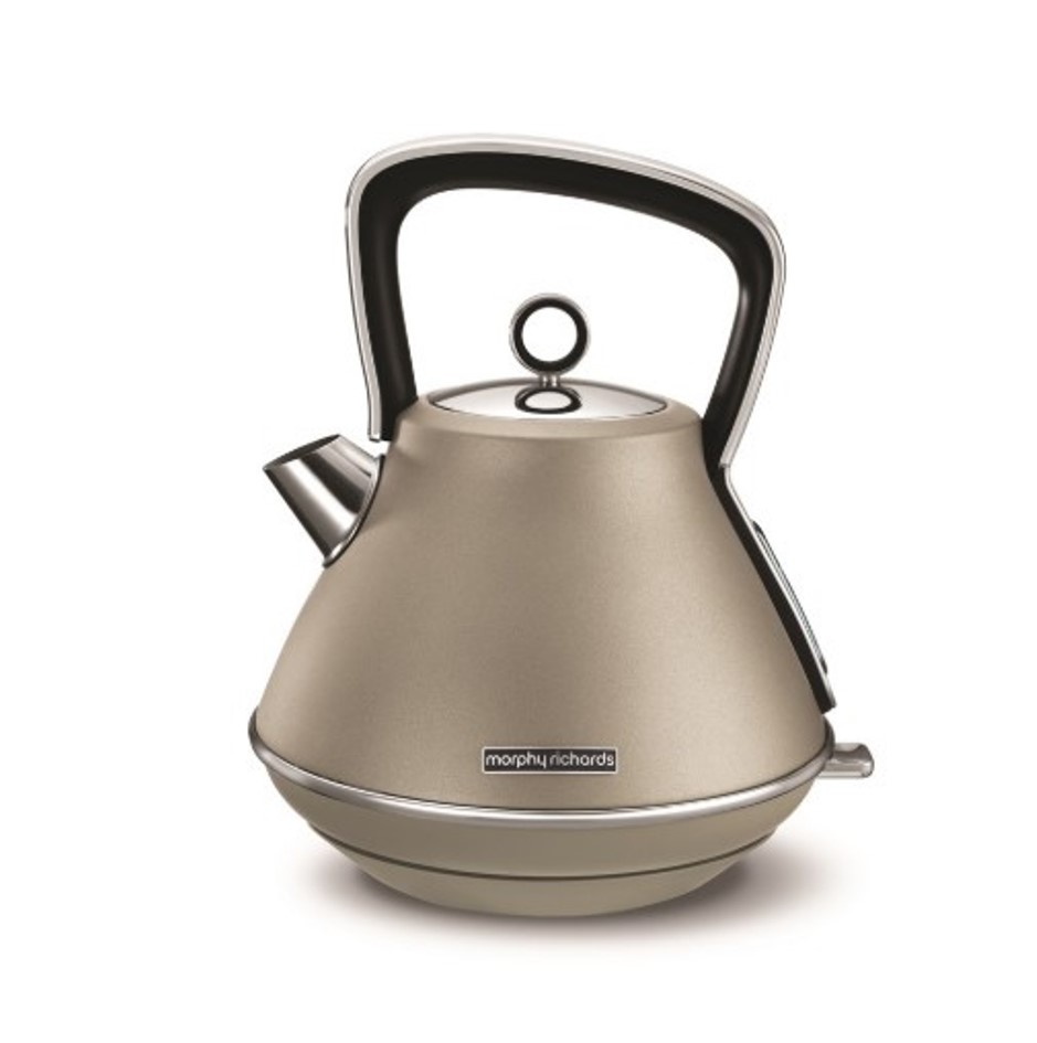 Онлайн каталог PROMENU: Чайник электрический Morphy Richards Evoke, 1,5 л, платиновый                               100103EE