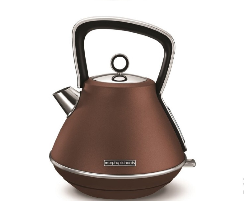 Онлайн каталог PROMENU: Чайник электрический Morphy Richards Evoke, 1,5 л, бронзовый                               100101EE