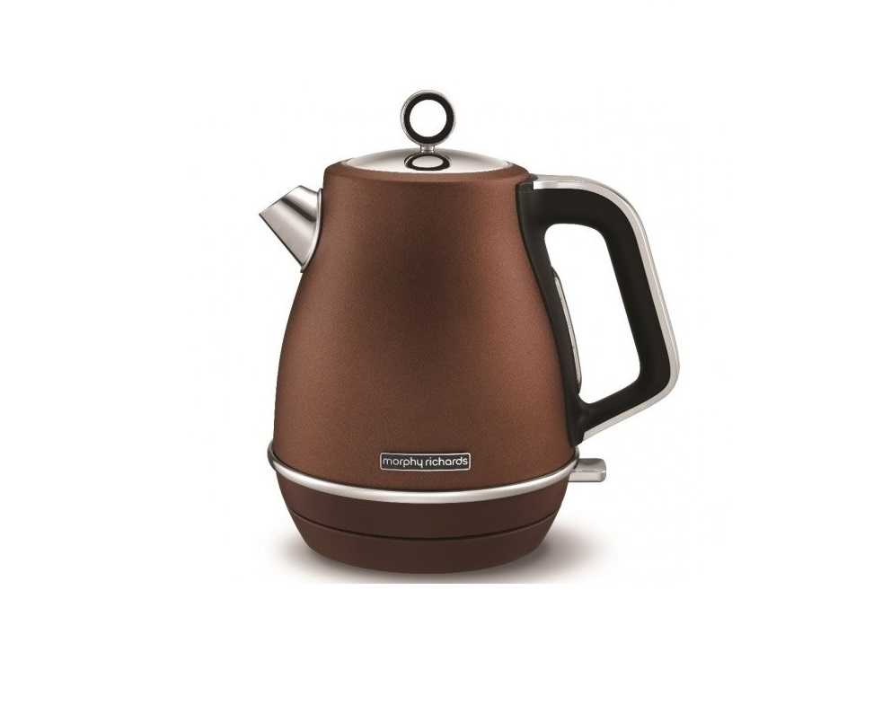 Онлайн каталог PROMENU: Чайник электрический Morphy Richards Evoke Jug Kettle, 1,5 л, бронзовый                               104401EE