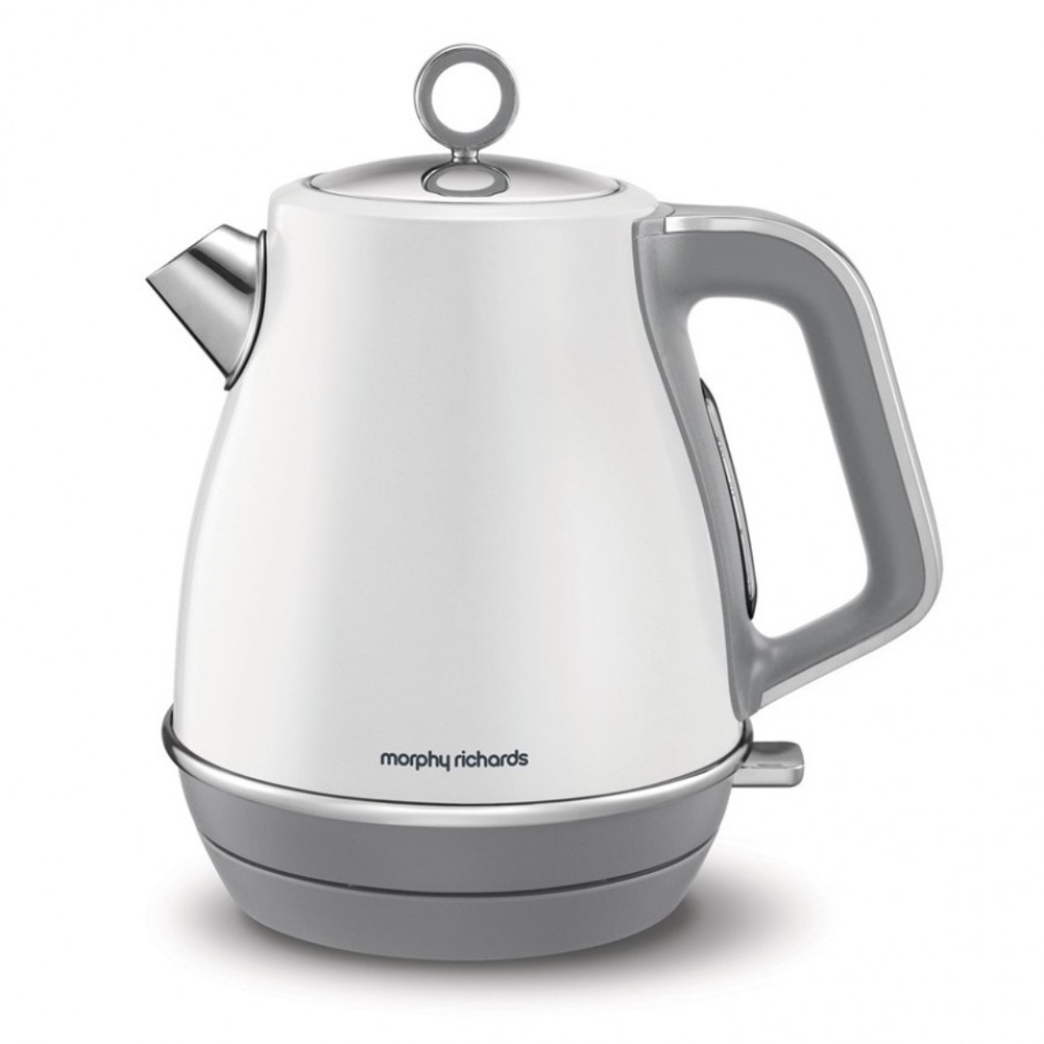 Онлайн каталог PROMENU: Чайник электрический Morphy Richards EVOKE, объем 1,5 л, 2,2 кВт, белый                               104409EE