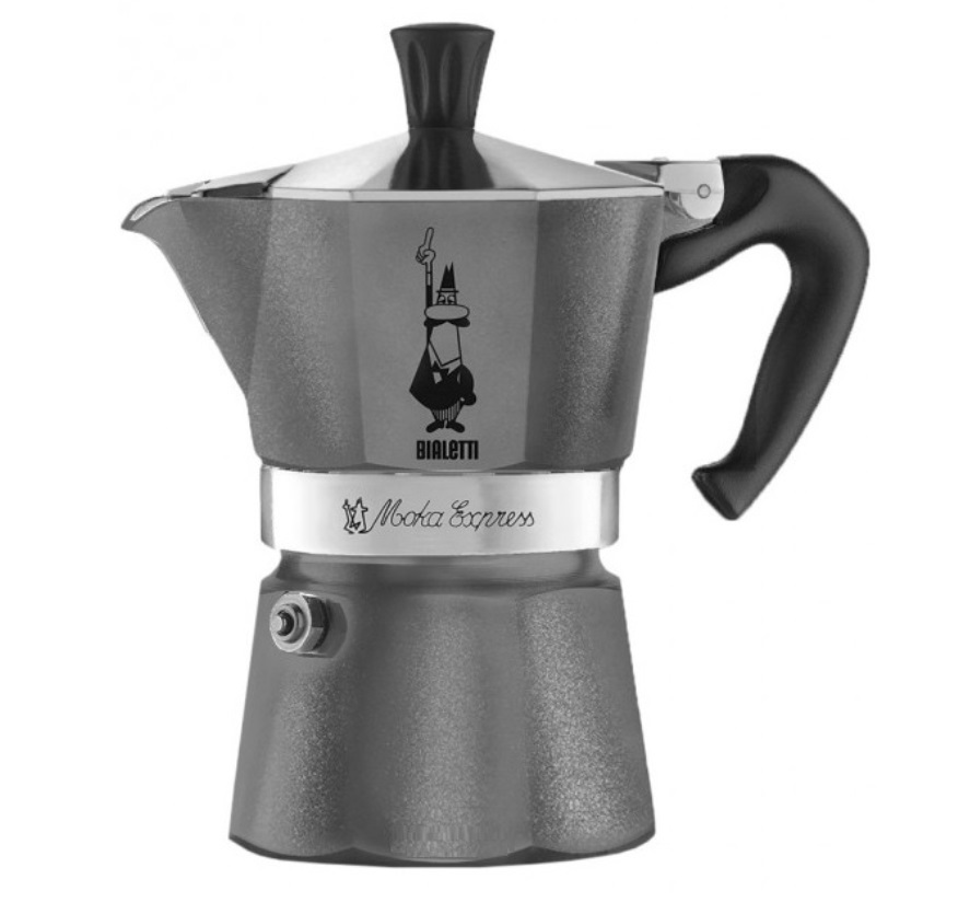 Онлайн каталог PROMENU: Кофеварка гейзерная Bialetti MOKA EXPRESS EMOTION, на 6 чашек                               0005313