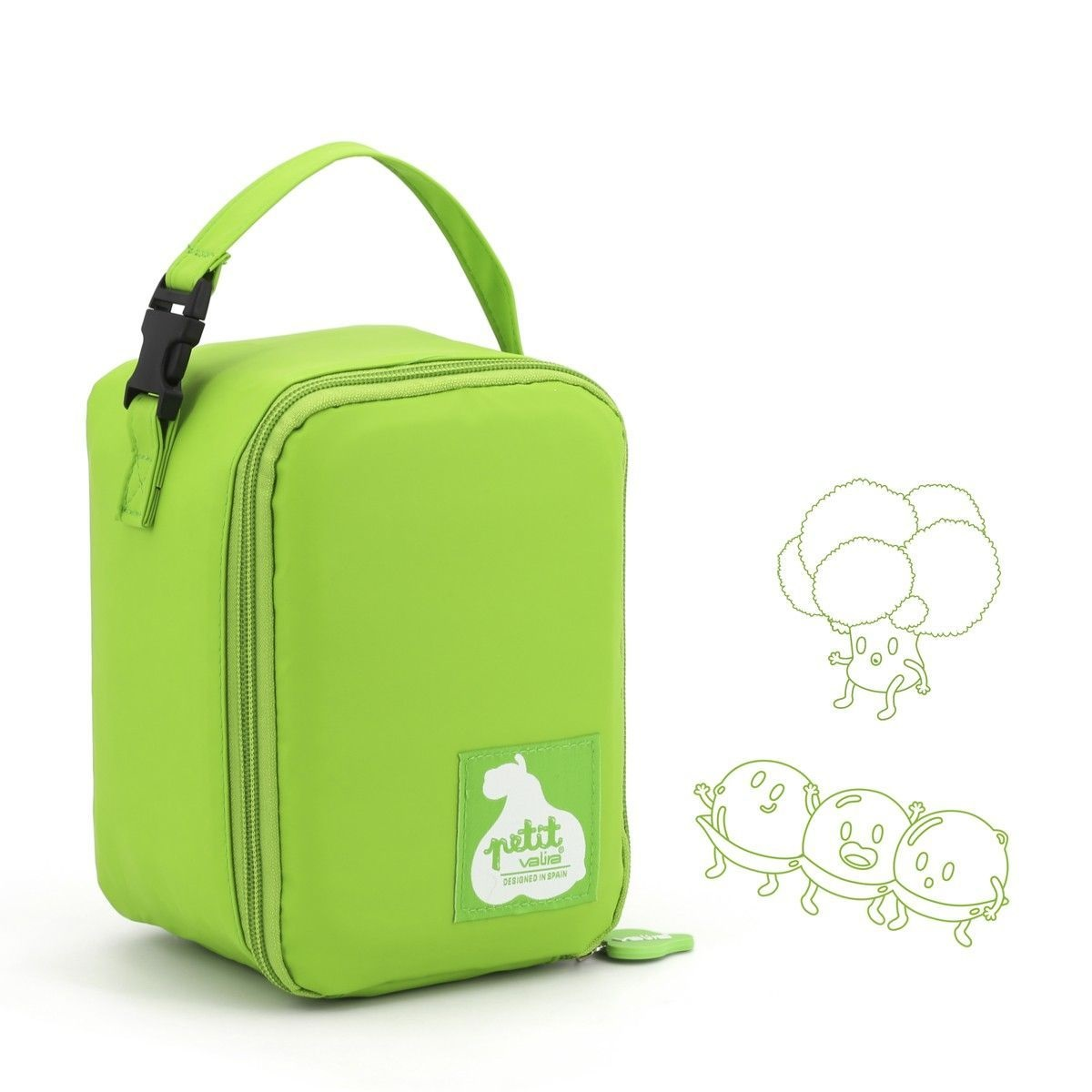 Онлайн каталог PROMENU: Термо-сумка Valira LUNCH BAG PETIT, зеленая                                   6034/51