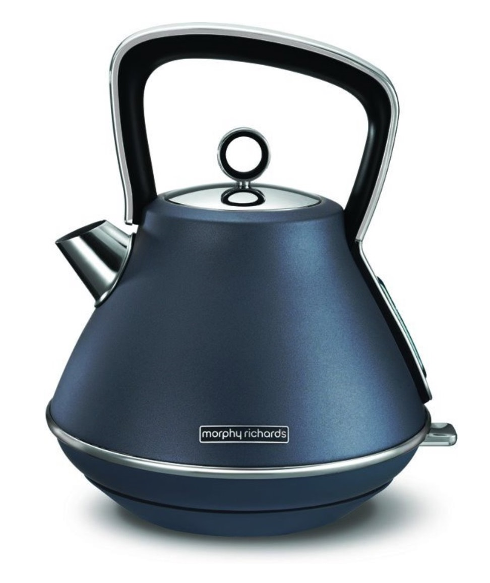 Онлайн каталог PROMENU: Чайник электрический Morphy Richards Evoke, 1,5 л, синий                               100102EE