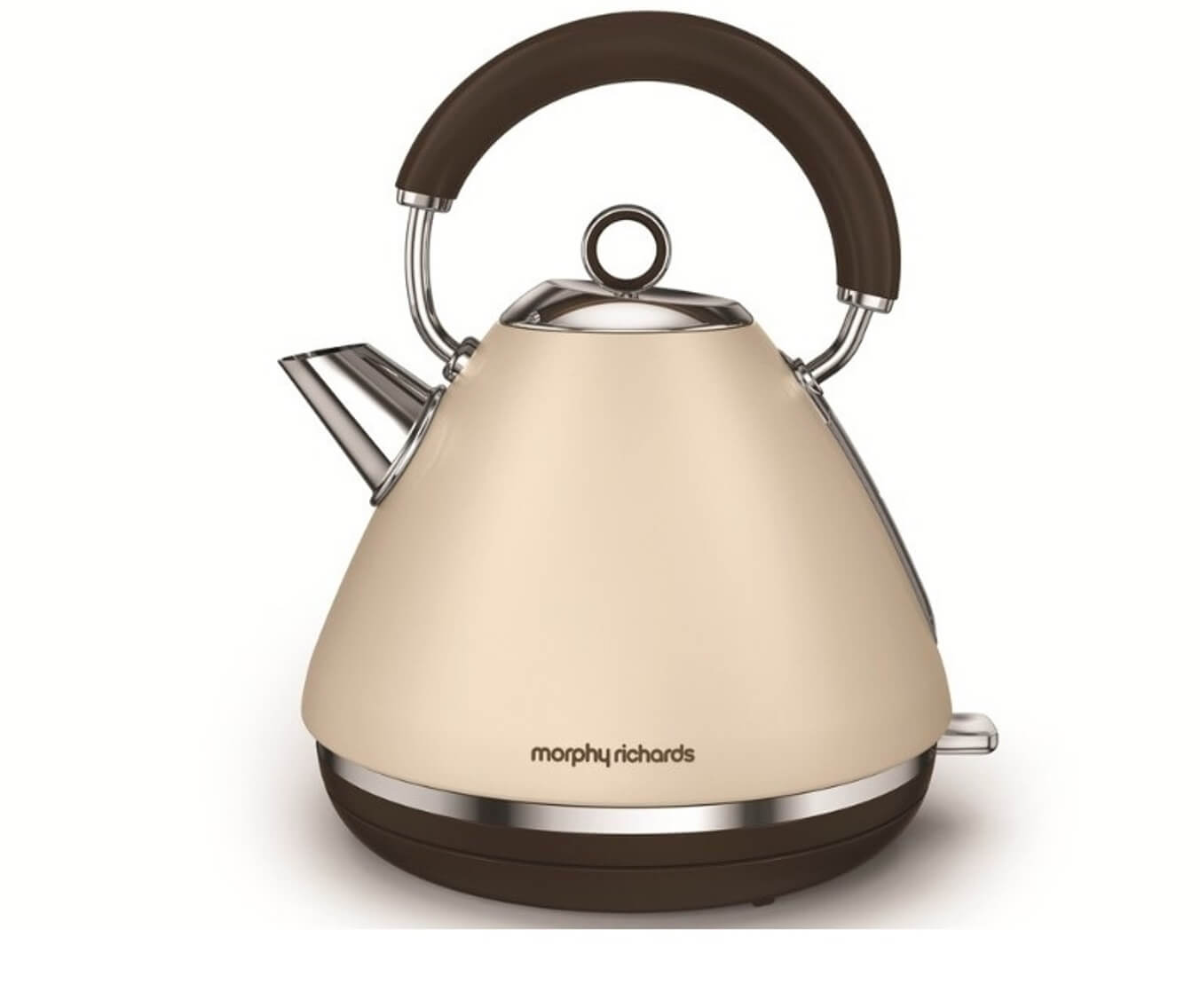 Онлайн каталог PROMENU: Чайник электрический Morphy Richards Accents, объем 1,5 л, песочный                               102101EE