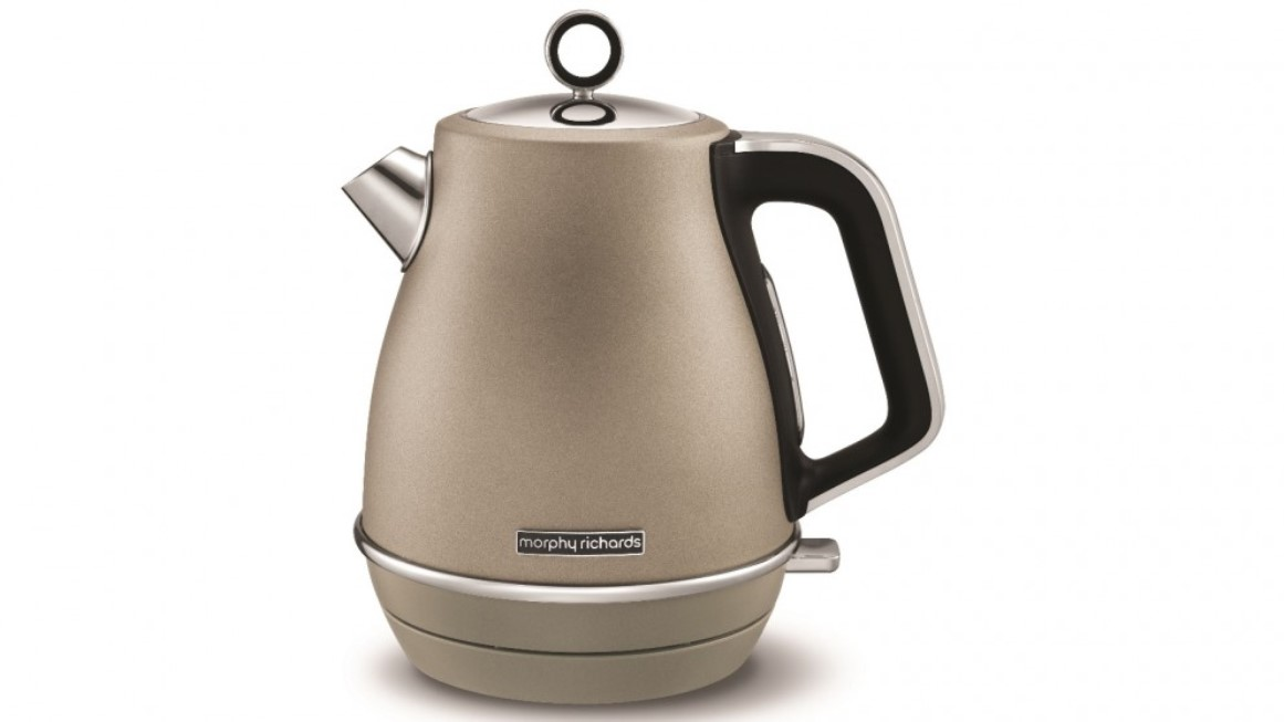 Онлайн каталог PROMENU: Чайник электрический Morphy Richards Evoke Jug Kettle, 1,5 л, платиновый                               104403EE