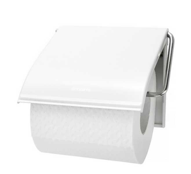 Онлайн каталог PROMENU: Держатель для туалетной бумаги Brabantia, 13,3х1,7х12,3 см, белый Brabantia 414565