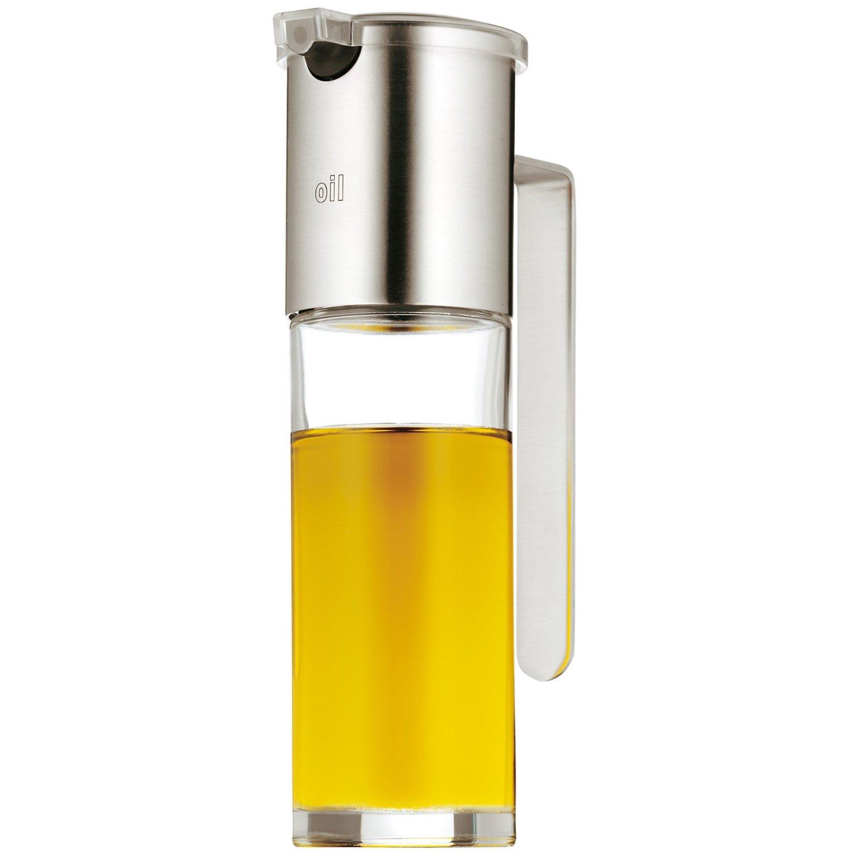 Онлайн каталог PROMENU: Диспенсер для масла/уксуса WMF Basic, объем 0,12 л, прозрачный с серебристым WMF 06 1916 6030