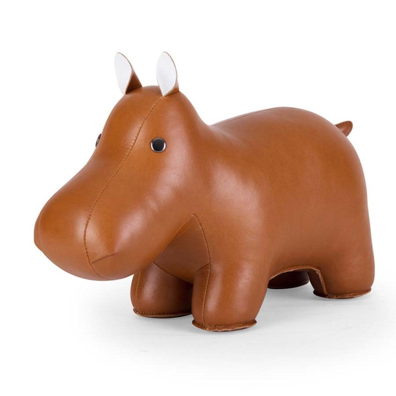 Онлайн каталог PROMENU: Дорстоппер Бегемот Zuny Class HIPPO, 35x14x24 см, коричневый Zuny ZCDV0023-1001