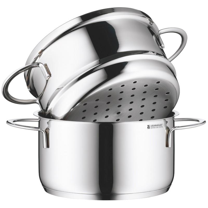 Онлайн каталог PROMENU: Кастрюля-пароварка для овощей WMF Mini, объем 1,5 л, диаметр 16 см                           07 1683 6040