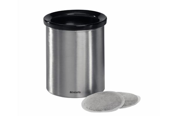 Онлайн каталог PROMENU: Контейнер для мусора настольный Brabantia, диаметр 11 см, высота 12 см Brabantia 371424