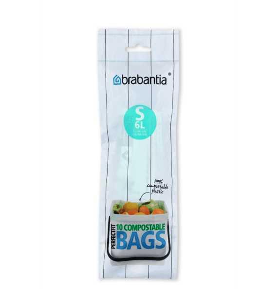 Онлайн каталог PROMENU: Мешки для мусора Brabantia, 6 л, 10 шт. Brabantia 419683