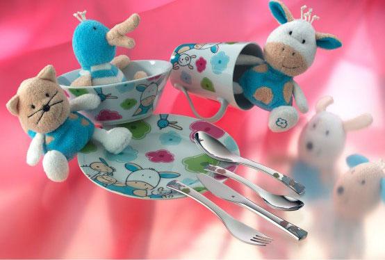 Онлайн каталог PROMENU: Набор детский WMF Farmily, 7 предметов WMF 12 9445 9974