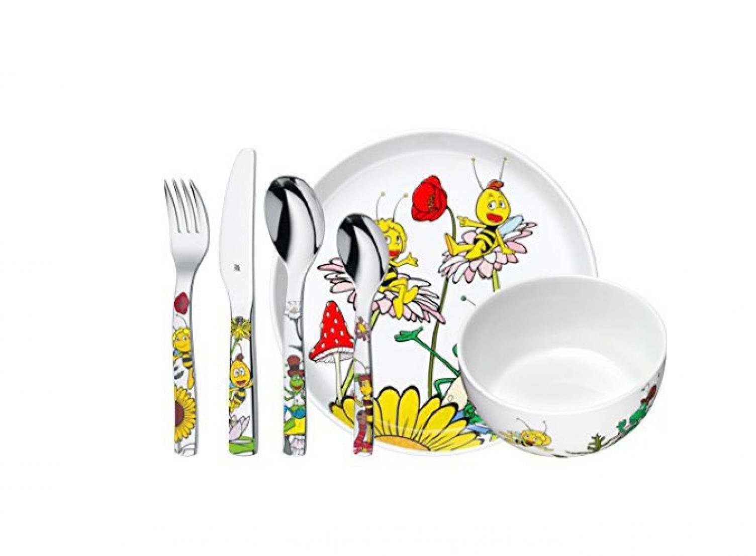 Онлайн каталог PROMENU: Набор столовый детский WMF BIENE MAJA, разноцветный, 6 предметов WMF 12 9440 9964