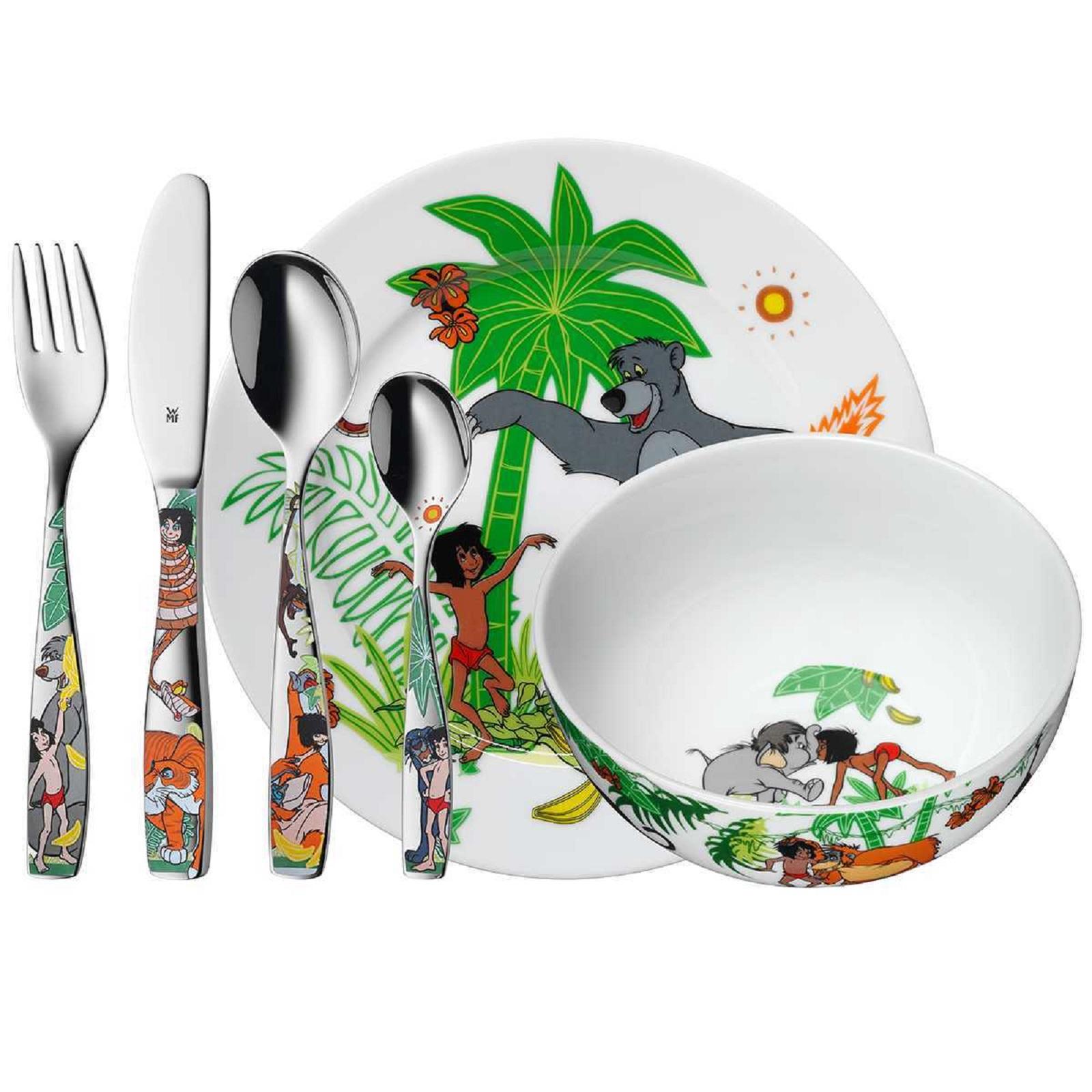 Онлайн каталог PROMENU: Набор столовый детский 6 пр. WMF Jungle Book  (12 8330 9964) WMF 12 8330 9964