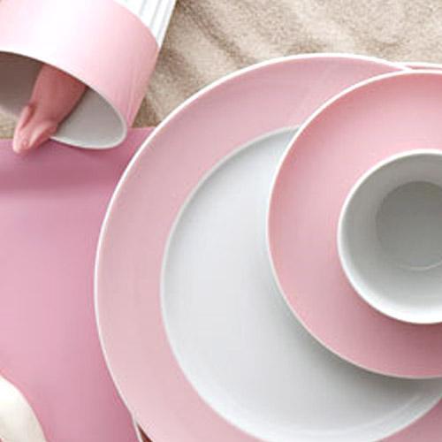 Онлайн каталог PROMENU: Набор столовый на 2 персоны Rosenthal SUNNY DAY, розовый, 10 предметов Rosenthal 10850-408533-28010