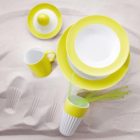 Онлайн каталог PROMENU: Набор столовый на 2 персоны Rosenthal SUNNY DAY, желтый, 10 предметов Rosenthal 10850-408535-28010