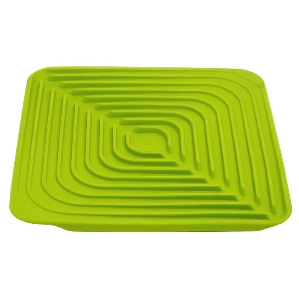 Онлайн каталог PROMENU: Подставка-сушка силиконовая для стаканов Joseph Joseph FLUME, 31x31x1 см, зеленый Joseph Joseph 85011