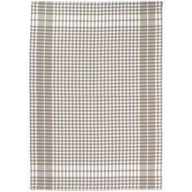Онлайн каталог PROMENU: Полотенце кухонное Winkler, 50х70 см, белый в бежевую клетку Winkler 6119097000