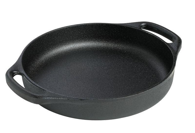 Онлайн каталог PROMENU: Сковорода с двумя ручками Skeppshult GRATIN DISHES, диаметр 26 см, черный Skeppshult 0062