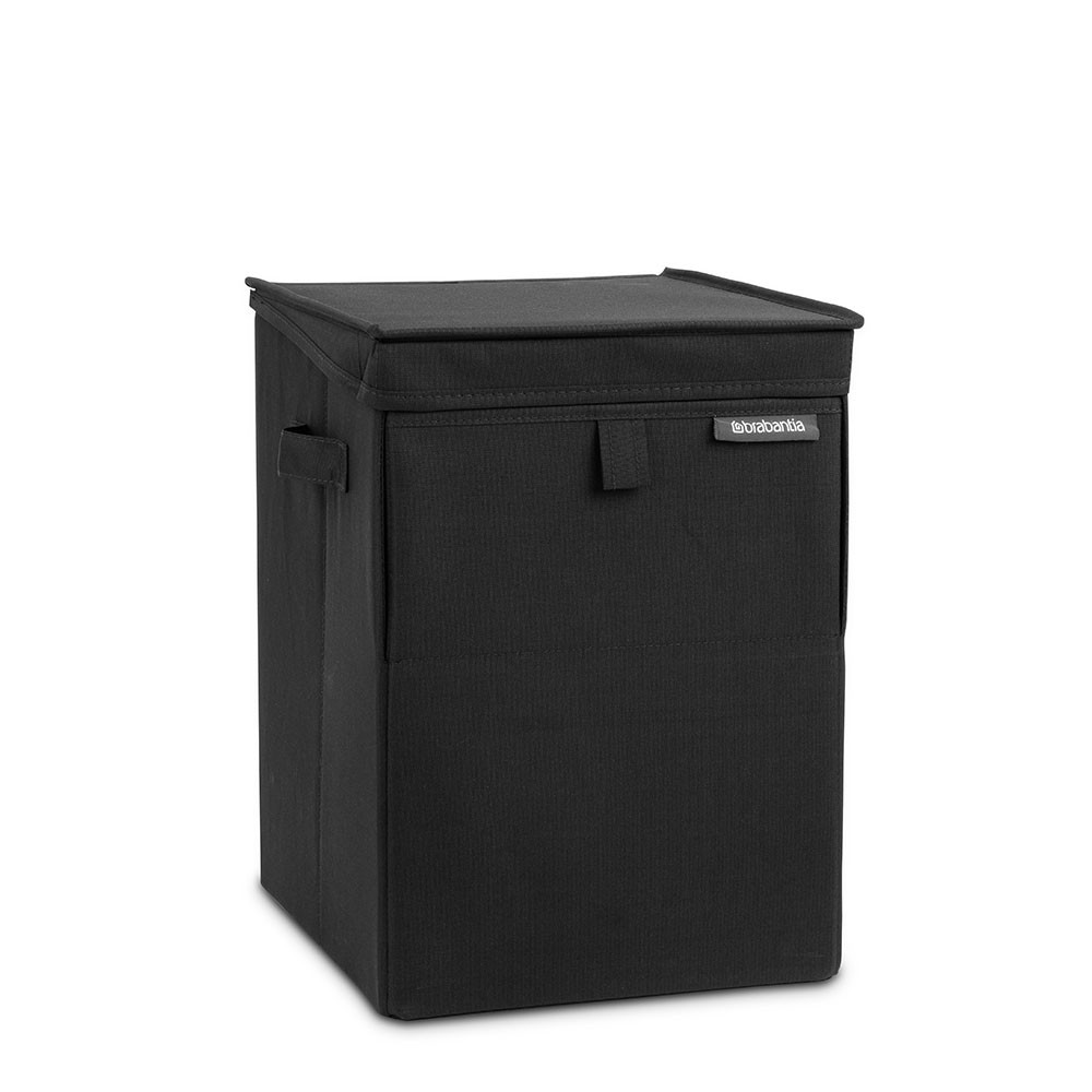 Онлайн каталог PROMENU: Сумка-короб для белья с крышкой модульная Brabantia, 44,5х32х37, черная Brabantia 109300