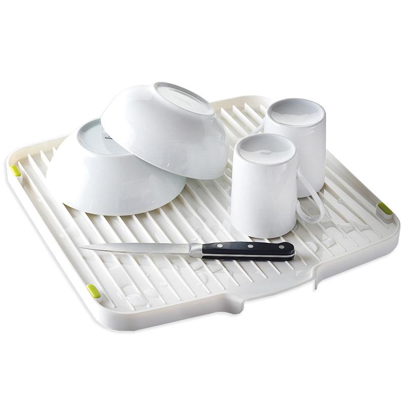 Онлайн каталог PROMENU: Сушилка для посуды двухсторонняя со сливом Joseph Joseph flip, 3x39,5x37,5 см, белый Joseph Joseph 85013