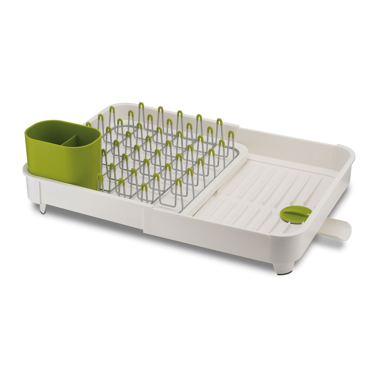 Онлайн каталог PROMENU: Сушилка для посуды раздвижная Joseph Joseph extend, 32х16х36 см, белый Joseph Joseph 85071