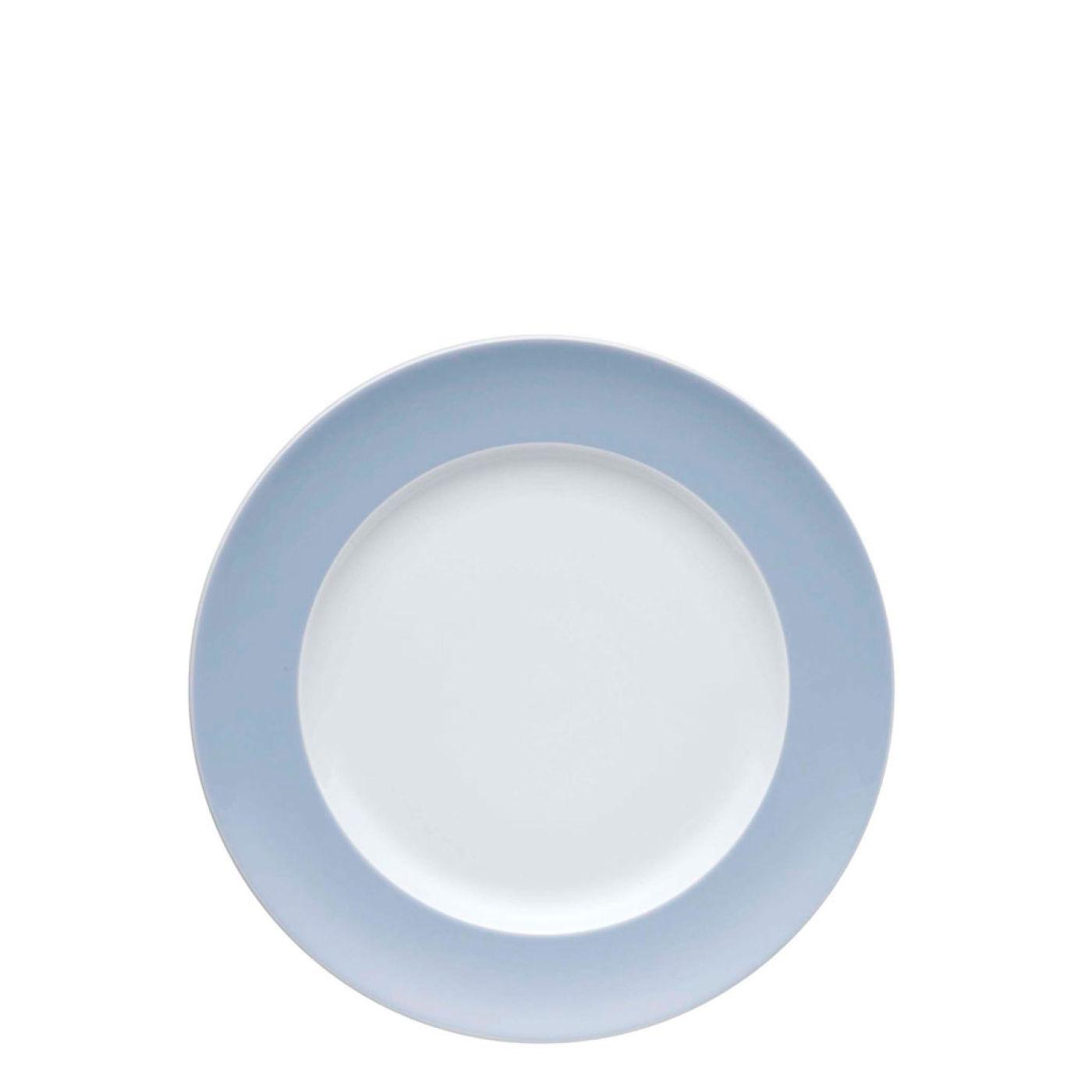 Онлайн каталог PROMENU: Тарелка десертная/закусочная Rosenthal SUNNY DAY, диаметр 22 см, голубой Rosenthal 70850-408510-10222
