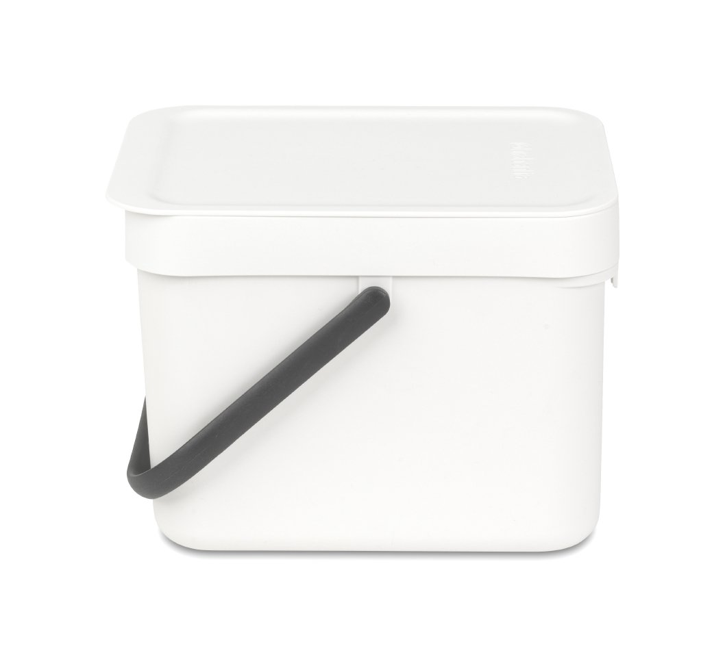 Онлайн каталог PROMENU: Ведро для мусора Sort&Go Brabantia, объем 6 л, белый Brabantia 109706