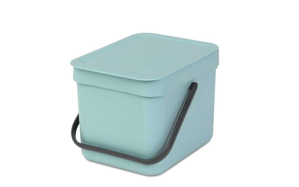 Онлайн каталог PROMENU: Ведро для мусора Sort&Go Brabantia, объем 6 л, мятный Brabantia 109645