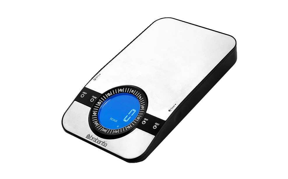 Онлайн каталог PROMENU: Весы цифровые кухонные Brabantia, серый Brabantia 480607