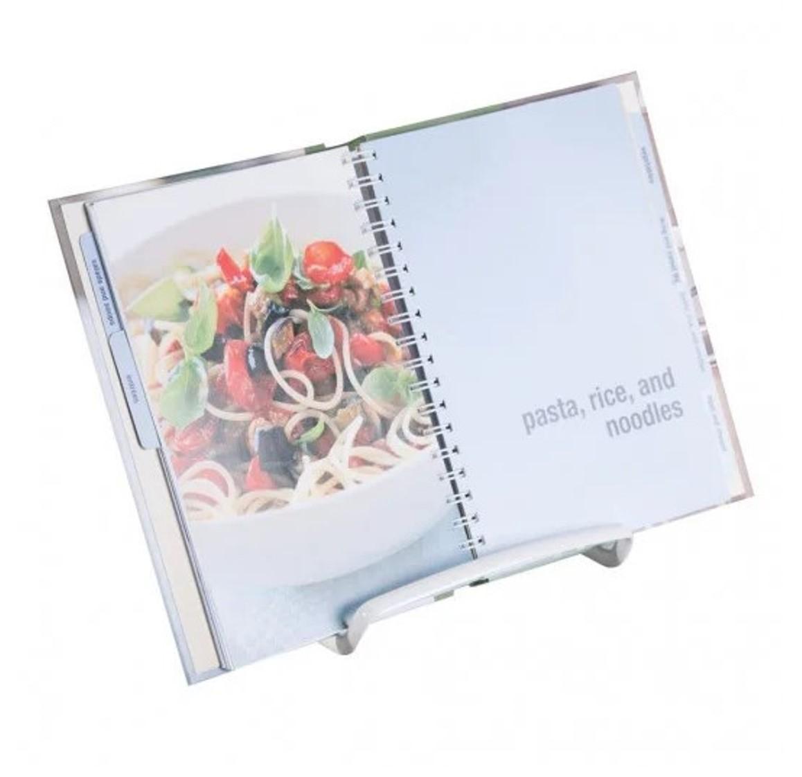Держатель для планшета или книги рецептов iDesign AXIS, 17х19,1х16 см, серебристый Interdesign                                                  59496EU фото 1