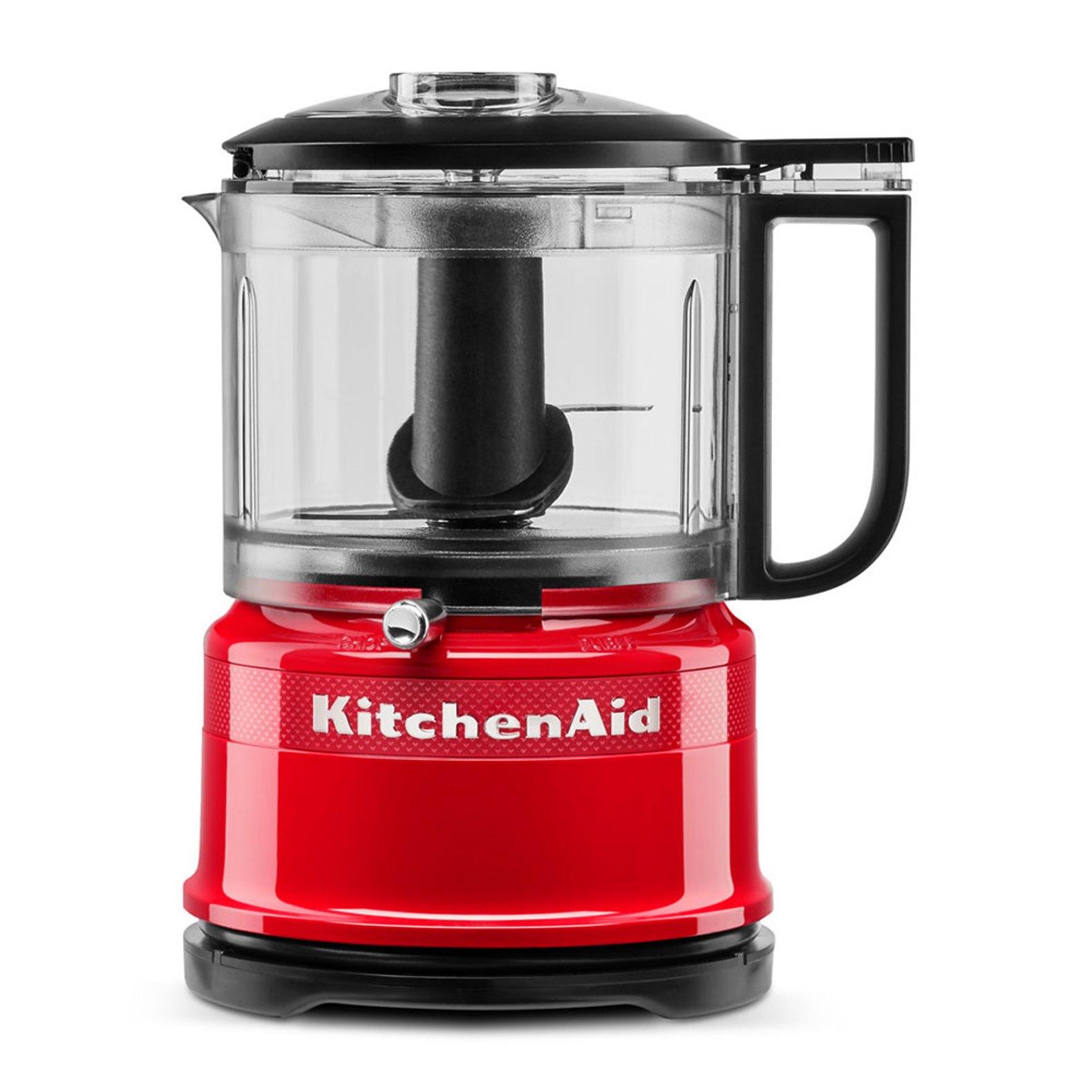 Онлайн каталог PROMENU: Измельчитель KitchenAid Queen of Hearts, объем 0,83 л, 22,2x17,8x14,3 см, чувственный красный KitchenAid 5KFC3516HESD