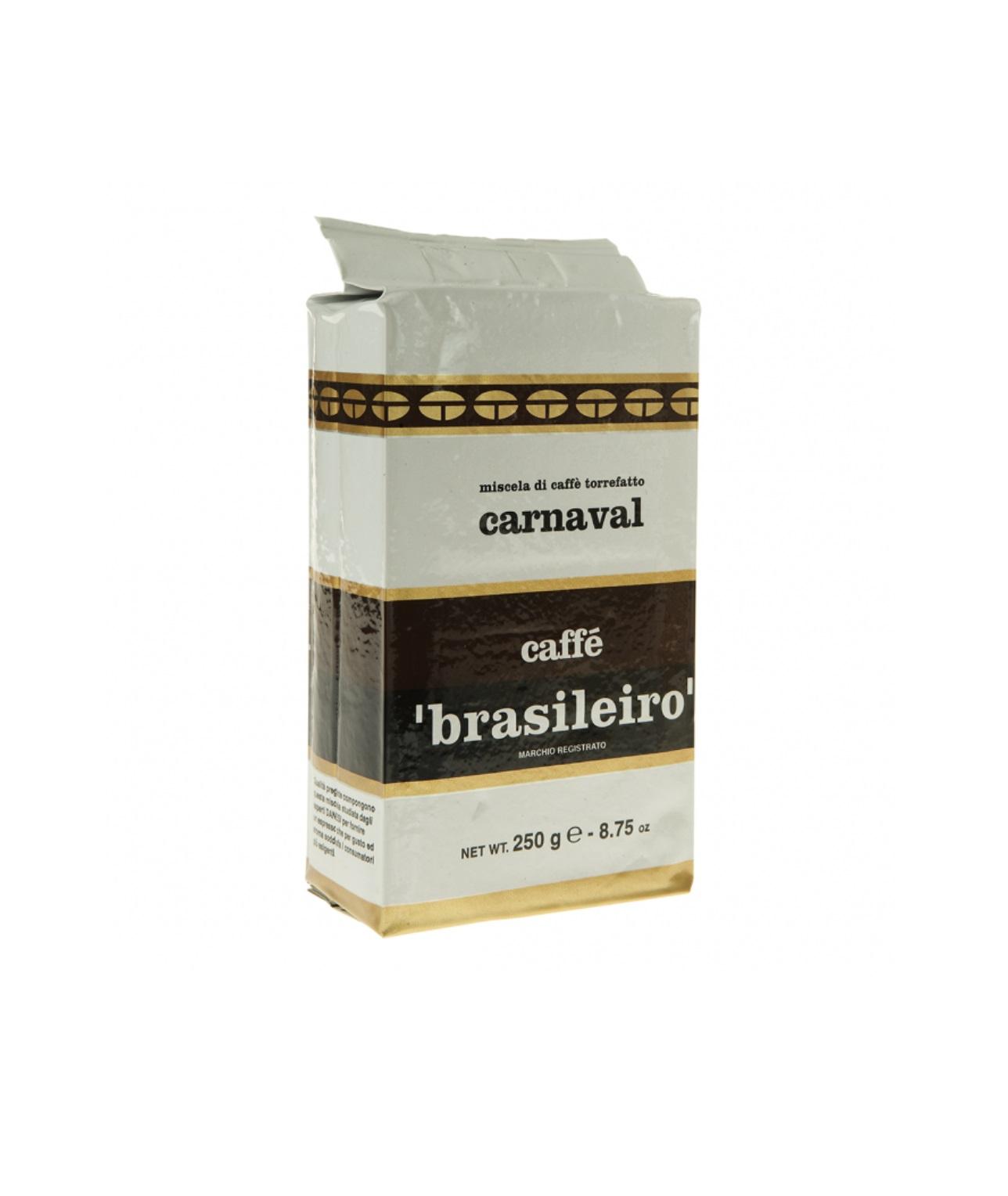 Онлайн каталог PROMENU: Кофе Brasileiro Carnaval Danesi, 0,25 кг, вакуумный пакет  2010340