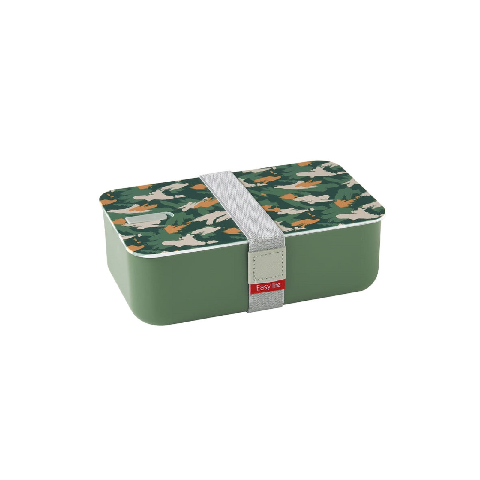 Онлайн каталог PROMENU: Ланч-бокс Easy Life, объем 1 л, 19 x 12 x 6,5 см, зеленый  2501 ABS3
