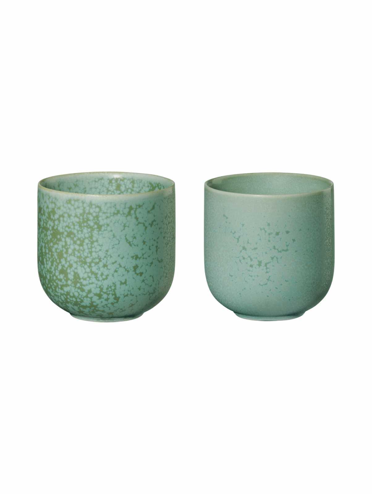 Онлайн каталог PROMENU: Набор фарфоровых чашек  ASA Selection COPPA, объем 0,15 л, 2 шт, ментоловый  19081191