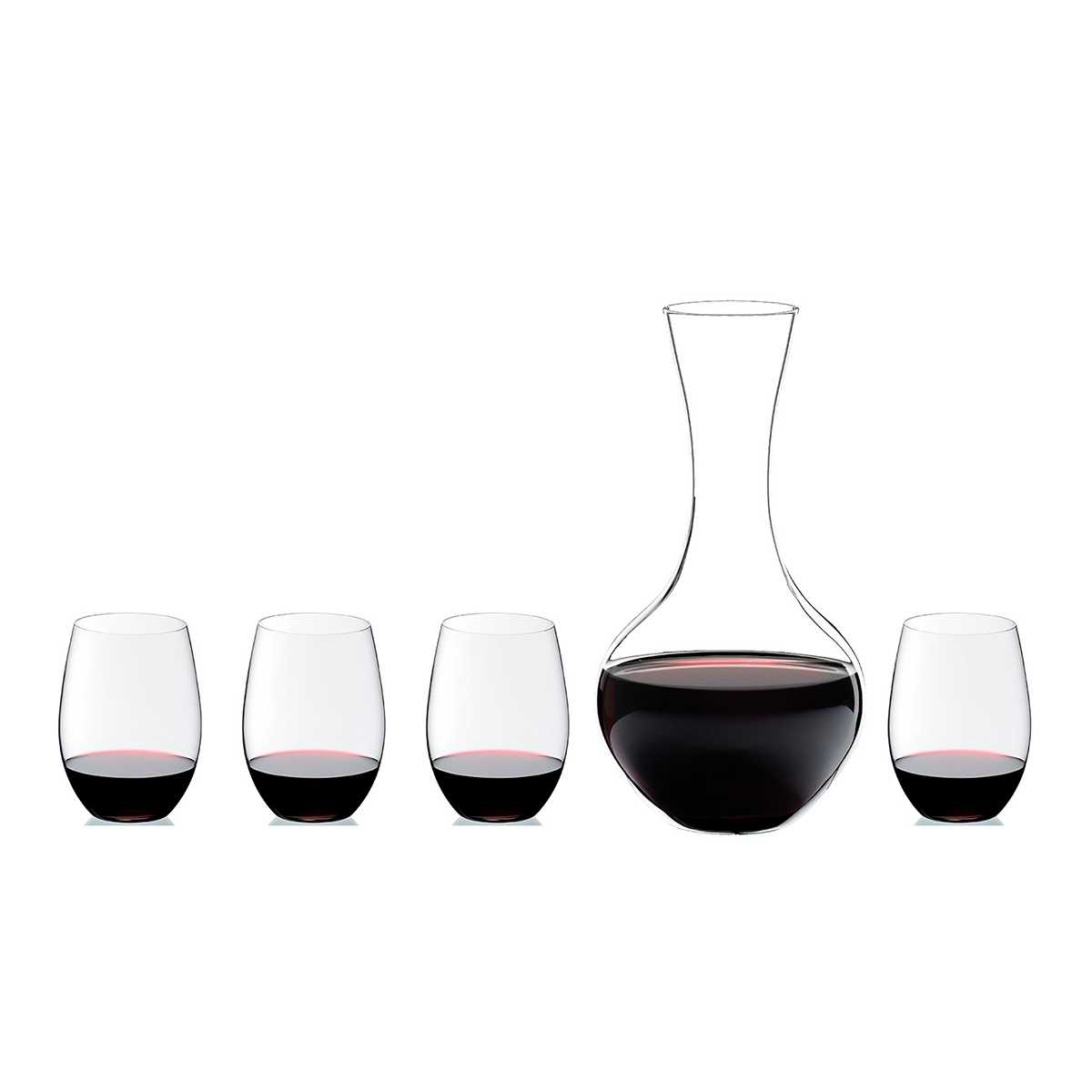 Онлайн каталог PROMENU: Набор для вина O RIEDEL _4 бокала для Cabernet O + Decanter, 5 шт  5414/30