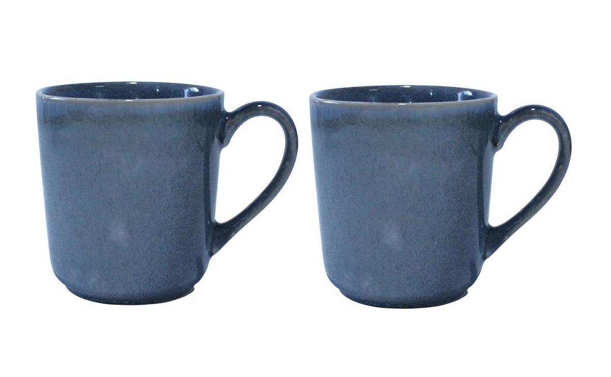 Онлайн каталог PROMENU: Набор кружек Aida SOHOLM SONJA, объем 0,4 л, керамика, синий, 2 штуки                                   16281