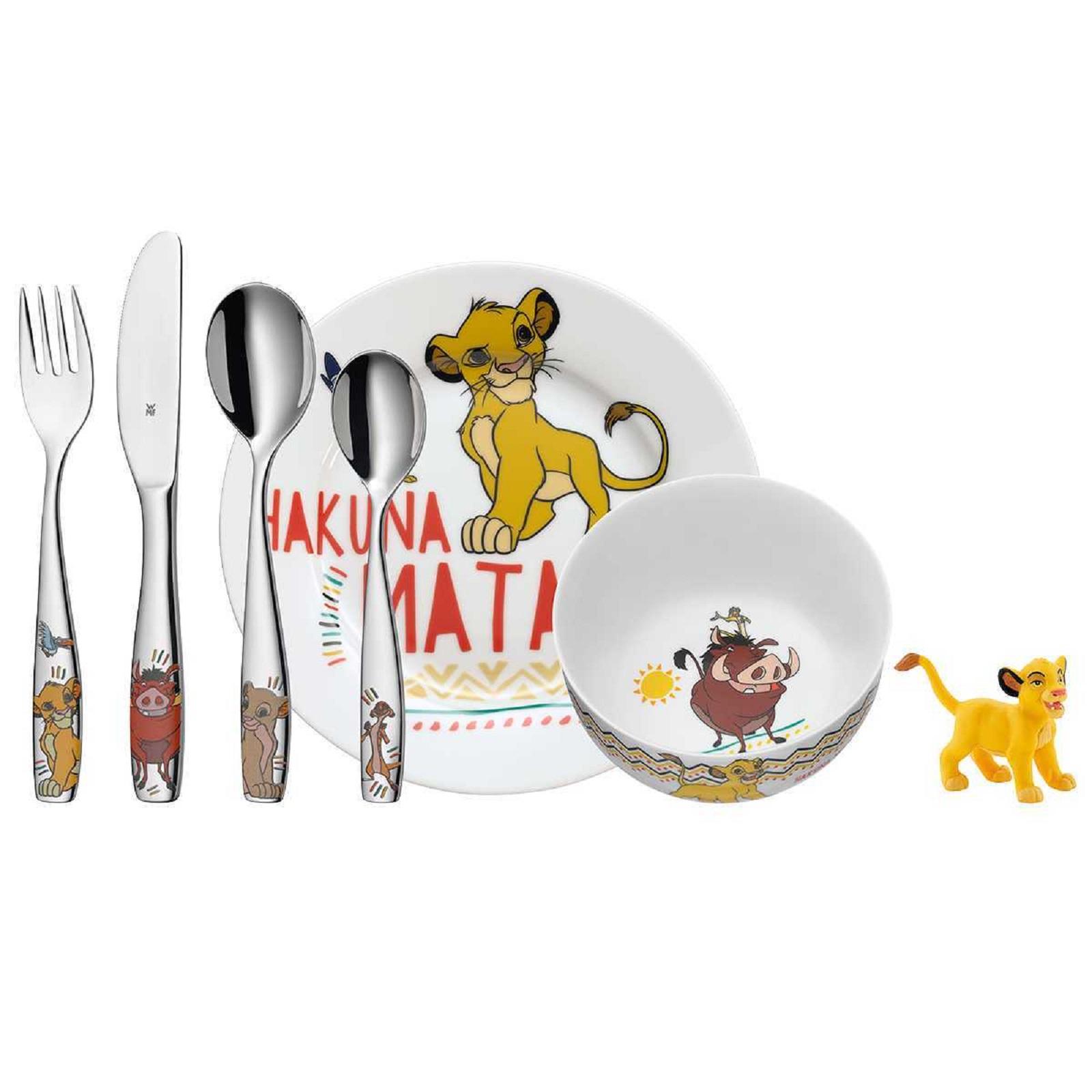 Набор посуды детский WMF LION KING, разноцветный, 6 предметов WMF 12 8604 9964 фото 0