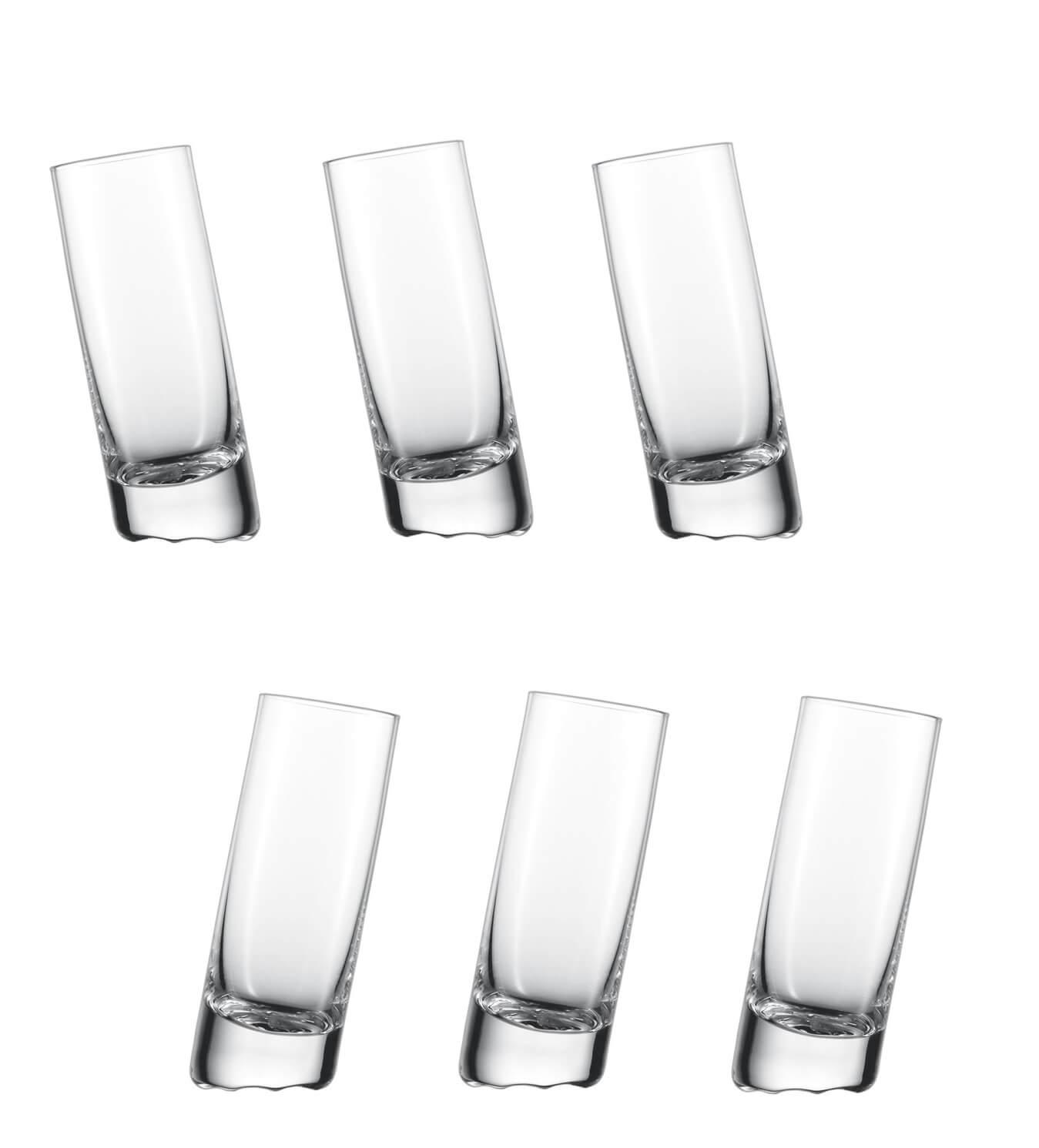 Онлайн каталог PROMENU: Набор стопок Schott Zwiesel 10 Grad, объем 0,074 л, прозрачный,  6 штук Schott Zwiesel 145046_6шт