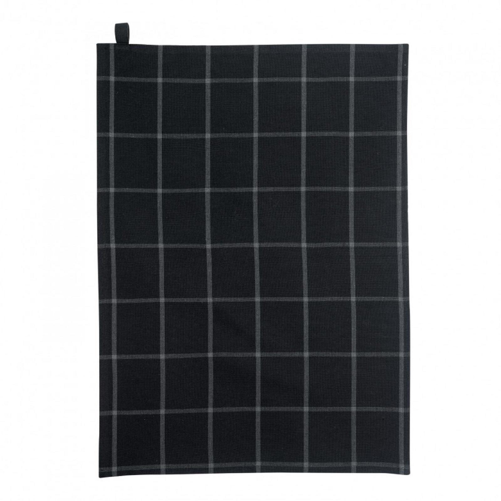 Онлайн каталог PROMENU: Полотенце кухонное Winkler DOHA, размеры  50х70 см, черный  3737079000