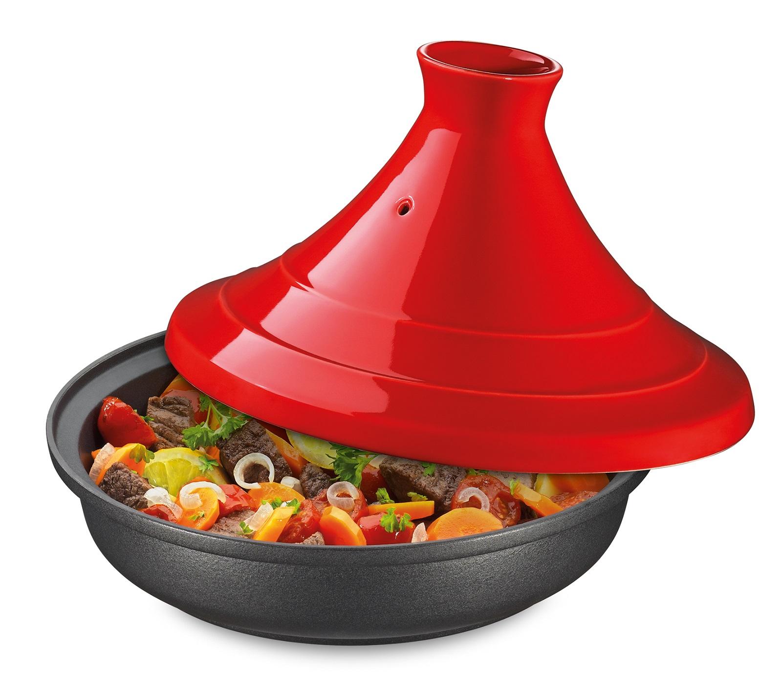 Таджин Spring ESCALE, диаметр 28 см, объем 2 л, красный Spring 12 1538 56 28 фото 1