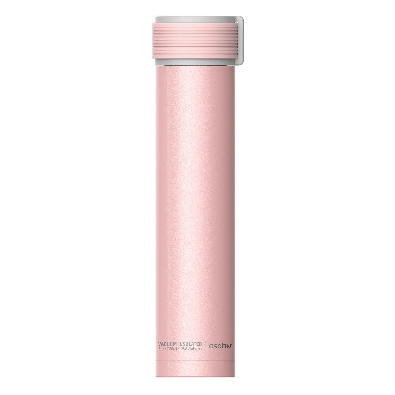 Онлайн каталог PROMENU: Термобутылка Asobu SKINNY MINI, объем 0,23 л, розовый Asobu SBV20 PINK